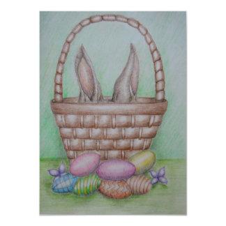 ovos da páscoa convite 11.30 x 15.87cm