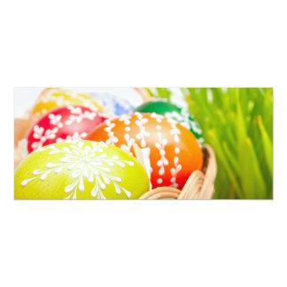Ovos da páscoa convite 10.16 x 23.49cm