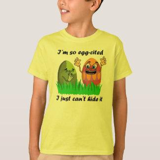 Ovos da páscoa engraçados t-shirt