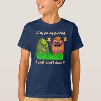 Ovos da páscoa engraçados tshirts