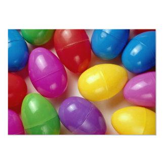 Ovos da páscoa plásticos convite 12.7 x 17.78cm