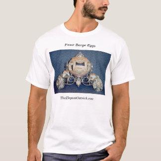 Ovos de Berge do falso por Ostrich.com elegante Camiseta