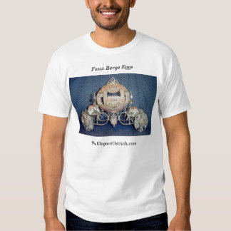 Ovos de Berge do falso por Ostrich.com elegante Camisetas