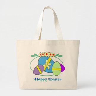 Ovos de felz pascoa bolsas para compras