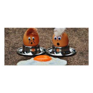 Ovos engraçados 10.16 x 22.86cm panfleto