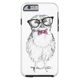 Owlet Nerdy pequeno mas esperto Capa Tough Para iPhone 6