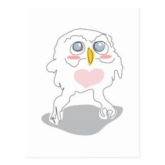 owlie o cartão da torta do cutie