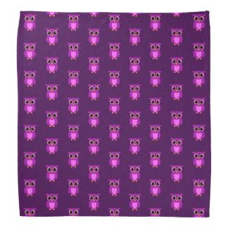 Owly roxo TP Bandana