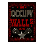 OWS OCUPAM WALL STREET 99 forte Pôsteres
