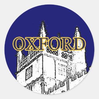 Oxford Inglaterra 1986 jGibney de construção do Adesivo