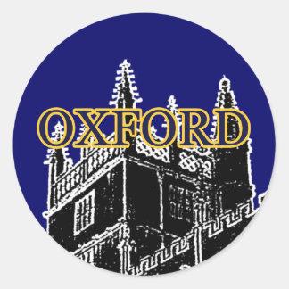 Oxford Inglaterra 1986 jGibney pretos de Adesivo