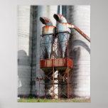 Oxidação & ruína impressão