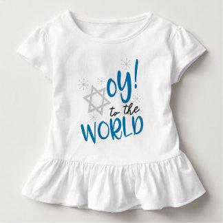 Oy à camisa do plissado do mundo