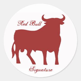 P1020224_WR Red Bull assinatura Adesivos Em Formato Redondos