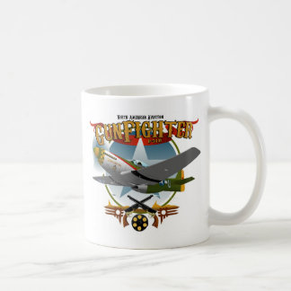 P51 Gunfighter 2 Caneca De Café