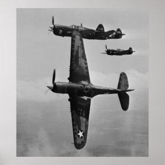 P-40 Warhawks Pôster