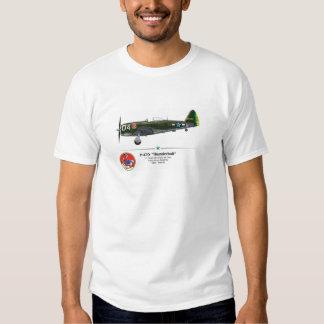 P-47D Thunderbolt - Senta a Pua - FAB Itália 1945 T-shirts