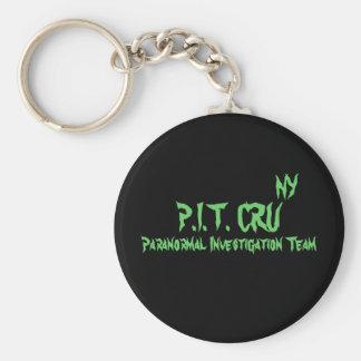 P.I.T. CRU, NY, equipe de investigação Paranormal Chaveiro