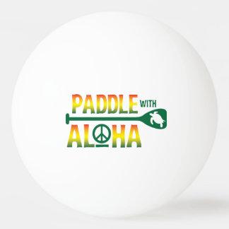 Pá com Aloha - bola de Pong do sibilo - estilo da