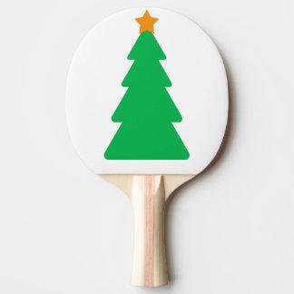 Pá da árvore de Natal Raquete De Ping Pong