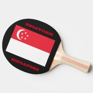 Pá da equipe de Singapore do ténis de mesa Raquete De Tênis De Mesa