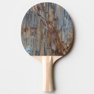 Pá de madeira rasgada de Pong do sibilo da textura Raquete Para Pingpong