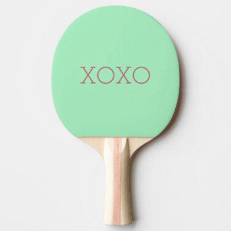Pá de Pong do sibilo de XOXO Raquete De Tênis De Mesa