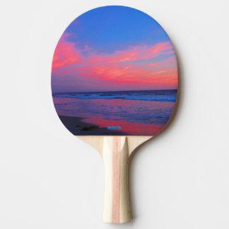Pá de Pong do sibilo - nuvens do oceano Raquete Para Ping Pong