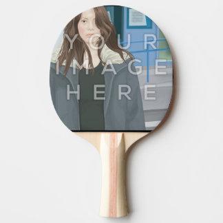 Pá personalizada foto de Pong do sibilo de Raquete Para Ping Pong
