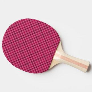 Pá Playfully cor-de-rosa de Pong do sibilo da Raquete De Ping-pong