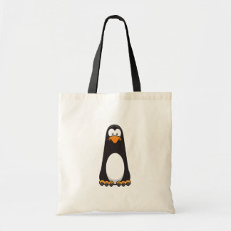 Pablo o saco pensativo do pinguim bolsa tote
