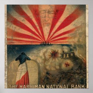 Paciência 1 da coragem da fé de Harriman National Posteres