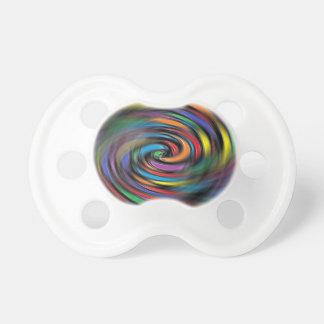 Pacifier colorido das vibrações chupeta de bebê