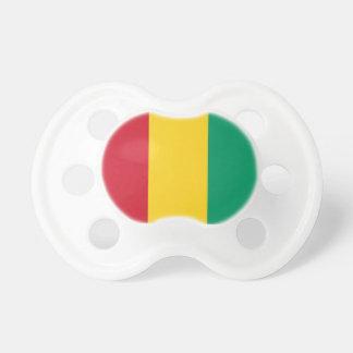 Pacifier de Booginhead da bandeira de Guiné-Bissau Chupeta Para Bebê