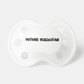Pacifier de Rockstar Chupeta Para Bebê