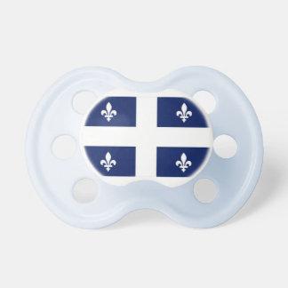 Pacifier do bebê da bandeira de Quebeque Chupeta Para Bebê
