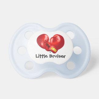 Pacifier do design das luvas de encaixotamento chupeta para bebê