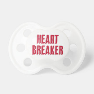 Pacifier do Heartbreaker do dia dos namorados Chupeta