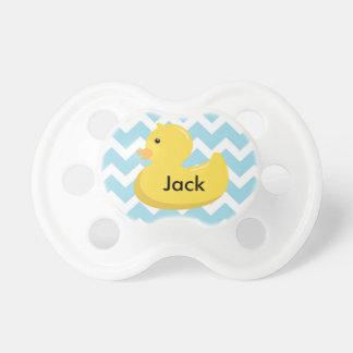 Pacifier Ducky de borracha do presente do chá de Chupeta