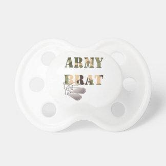 Pacifier militar do pirralho do exército chupeta de bebê