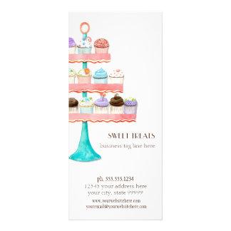 Pacote de negócio da padaria do cozimento da 10.16 x 22.86cm panfleto