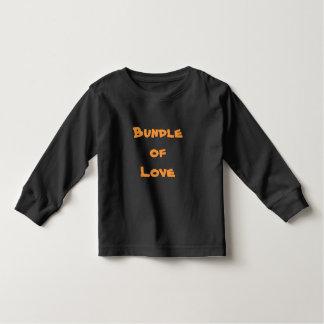 PACOTE de roupa do bebê das camisetas dos t-shirt