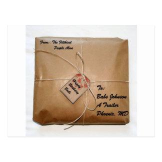 Pacote do aniversário de Babs Johnson Cartão Postal