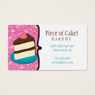 Padaria do bolo: Cartão de visita