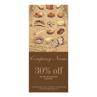 padaria francesa dos biscoitos da pastelaria do 10.16 x 22.86cm panfleto
