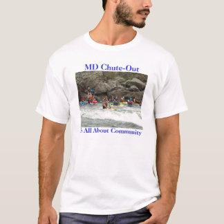 Paddlers de Potomac - a camisa da comunidade