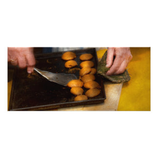 Padeiro - comida - tenha alguns biscoitos caros 10.16 x 22.86cm panfleto