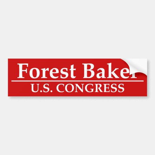 Padeiro da floresta para o congresso dos E.U. Adesivos