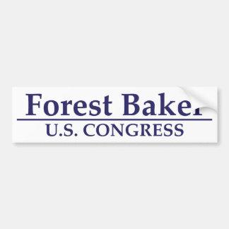 Padeiro da floresta para o congresso dos E U Adesivos