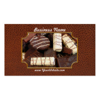 Padeiro - quem quer biscoitos modelos cartao de visita